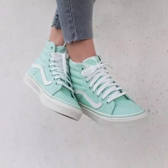 Vans Sk8hi High Top Mint Green
